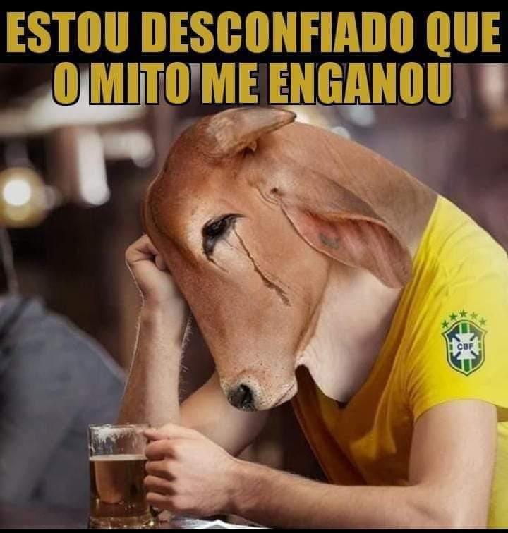 Desconfiado Que Bolsonaro Me Enganou - Casa dos Memes